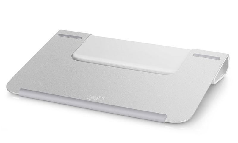 Deepcool U Hub 15.6' Notebook Cooler Hub/Stand, Aluminium Panel, 1x USB 3.0 Input, 4x USB 3.0 Out, Silver/Grey (LS)