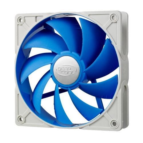 Deepcool Ultra Silent 120mm x 25mm Ball Bearing Case Fan with Anti-Vibration Frame PWM