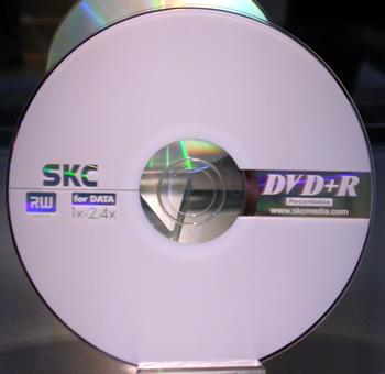 SKC 4.7GB 4X DVD+RW Media 10pk SKC Packaged 4.7Gb 4X DVD+RW