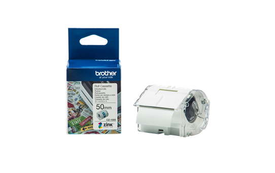 Brother CZ-1005 Full Colour continuous label roll, 50mm wide to Suit VC-500W