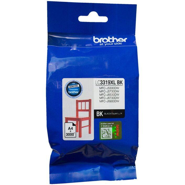 Brother LC-3319 XL Black to Suit - J5330DW/J5730DW/J6530DW/J6730DW/J6930DW