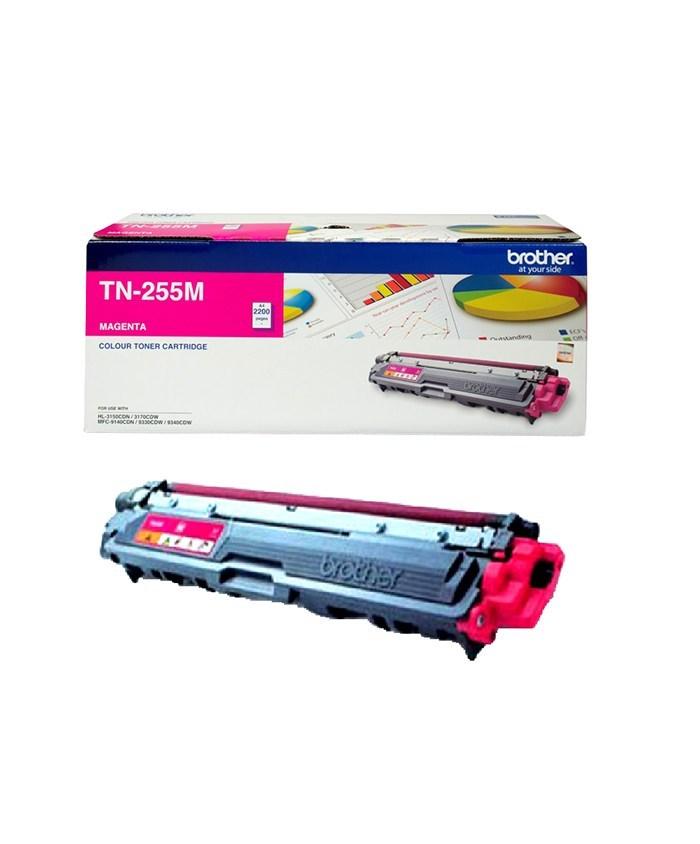Brother TN-255M Colour Laser Toner- Magenta High Yield- HL-3150CDN/3170CDW/MFC-9140CDN/9330CDW/9335CDW/9340CDW /DCP-9015CDW (2,200 Pages)