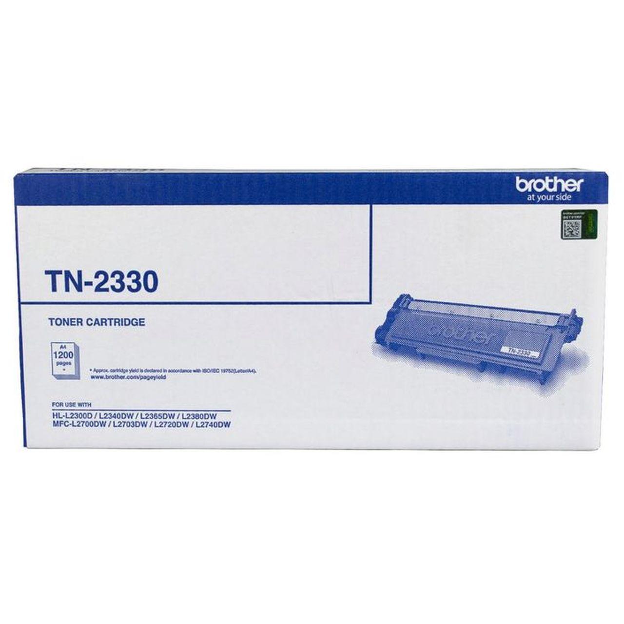 Brother TN-2230 Mono Laser Toner - Standard, HL-2240D/2242D/2250DN/2270DW, DCP-7060D/7065DN, MFC-7360N/7362N/7460DN/7860DW/7240, FAX-2950/2840