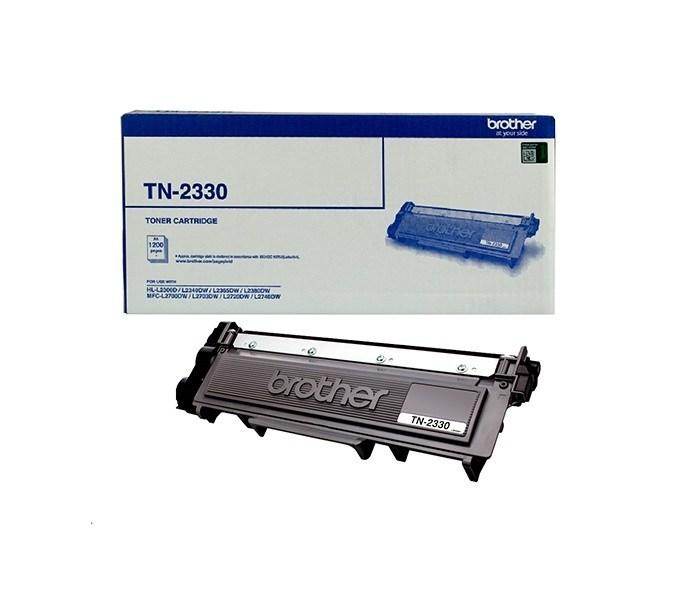 Brother TN-2330 Mono Laser Toner- Standard, HL-L2300D/L2305W/L2340DW/L2365DW/2380DW/MFC-L2700DW/2703DW/2720DW/2740DW up to 1,200 pages