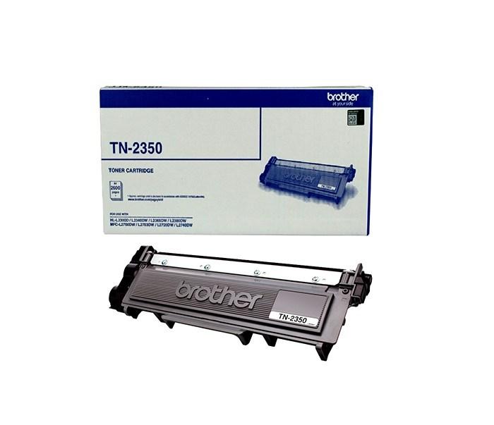 Brother TN-2350 Mono Laser Toner- High Yield Cartridge, HL-L2300D/L2305W/L2340DW/L2365DW/2380DW/MFC-L2700DW/2703DW/2720DW/2740DW up to 2,600 p