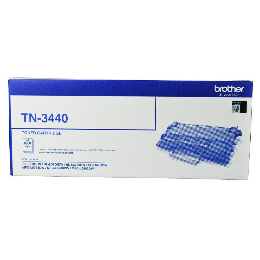 Brother TN-3440 Mono Laser Toner - High Yield- HL-L5100DN, L5200DW, L6200DW, L6400DW  MFC-L5755DW, L6700DW, L6900DW up to 8000 pages