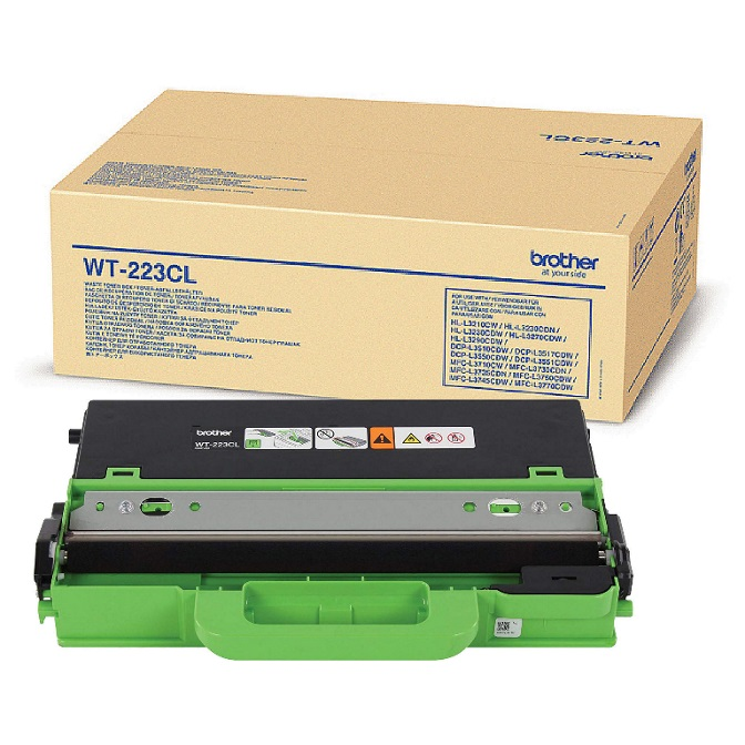 Brother WT-223CL Waste toner box to suit HL-3230CDW/3270CDW/DCP-L3510CDW/MFC-L3745CDW/L3750CDW/L3770CDW  (50,000 Pages)