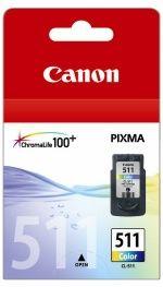 Canon CL511 FINE Colour Std Yl Suits MP240, MP480,MX320,MX330