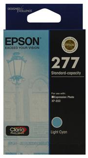 Epson 277 LightCyan,Std Capacity Ink, Claria Photo HD