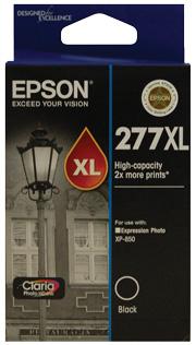 Epson 277XL High Capacity Blk Claria Photo HD