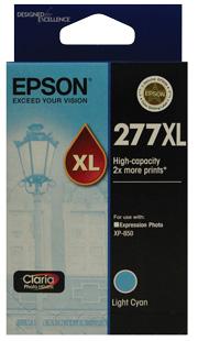 Epson 277XL Light Cyan, HIgh Capacity, Claria Photo HD