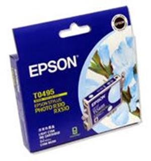 Epson T049 Light Cyan Ink RX630 R230 R350 RX650