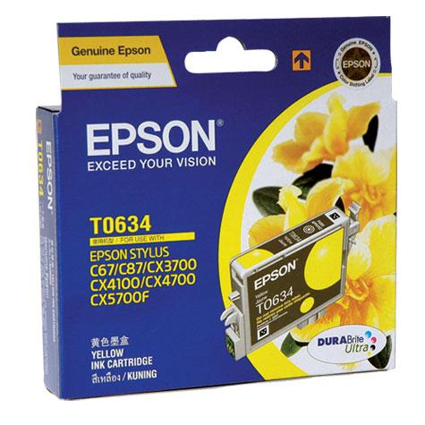 Epson T063 Yellow Ink (LS) CX3700/CX4100/CX4700/CX5700F