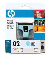 HP 02 AP LIGHTCYAN INK CART