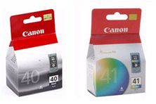Canon PG40 Black/CL41Colour Pk 1 x PG40  1 x CL41