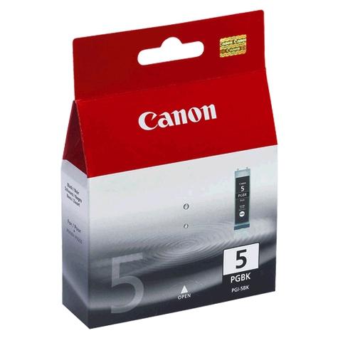 Canon PGI-5BK Black Ink Cart. IP4200, IP5200,IP5200R,MP500