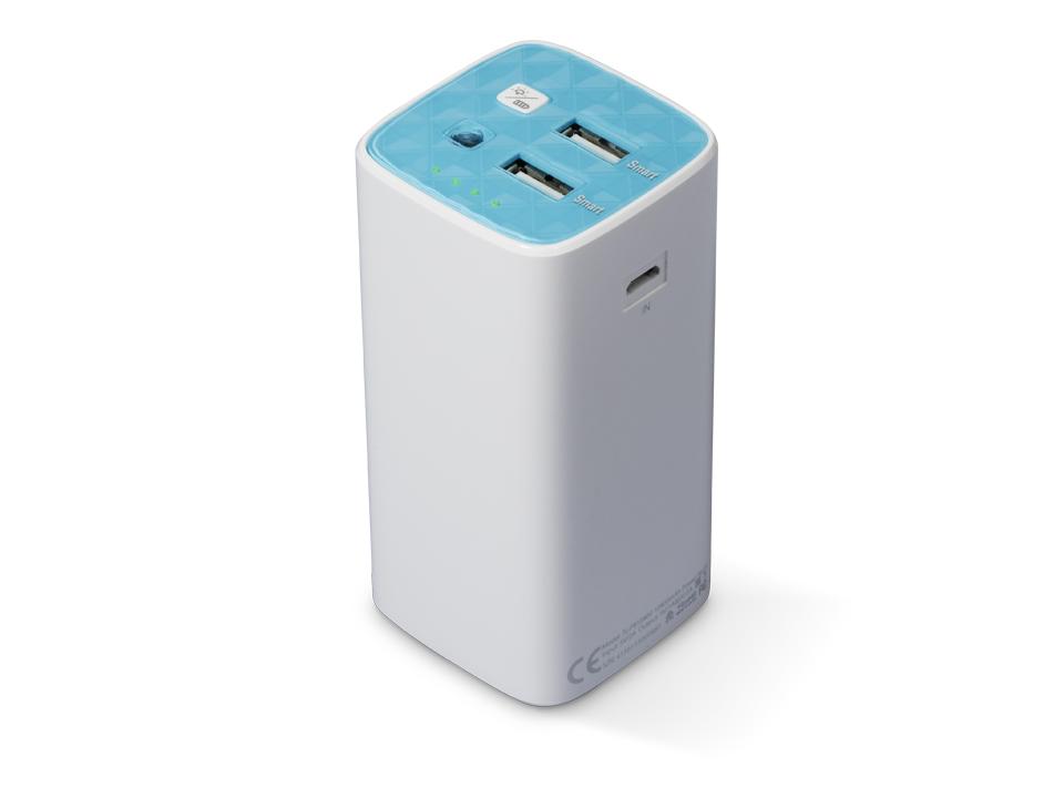 TP-Link TL-PB10400 10400mAh Portable Battery Charger Power Bank Dual USB 5V 3A 1xMicro USB 2xUSB LED Flashlight (LS)