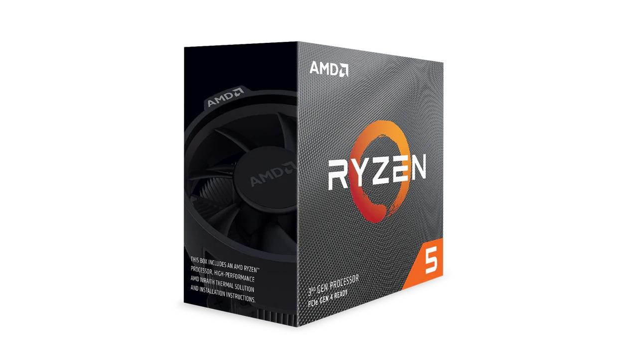 AMD Ryzen 5 3600, 6 Core AM4 CPU, 3.6GHz 4MB 65W w/Wraith Stealth Cooler Fan