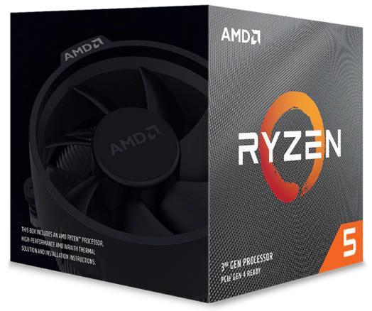 AMD Ryzen 5 3600XT, 6-Core/12 Threads UNLOCKED, Max Freq 4.5GHz, 35MB Cache Socket AM4 95W, With Wraith Spire Cooler