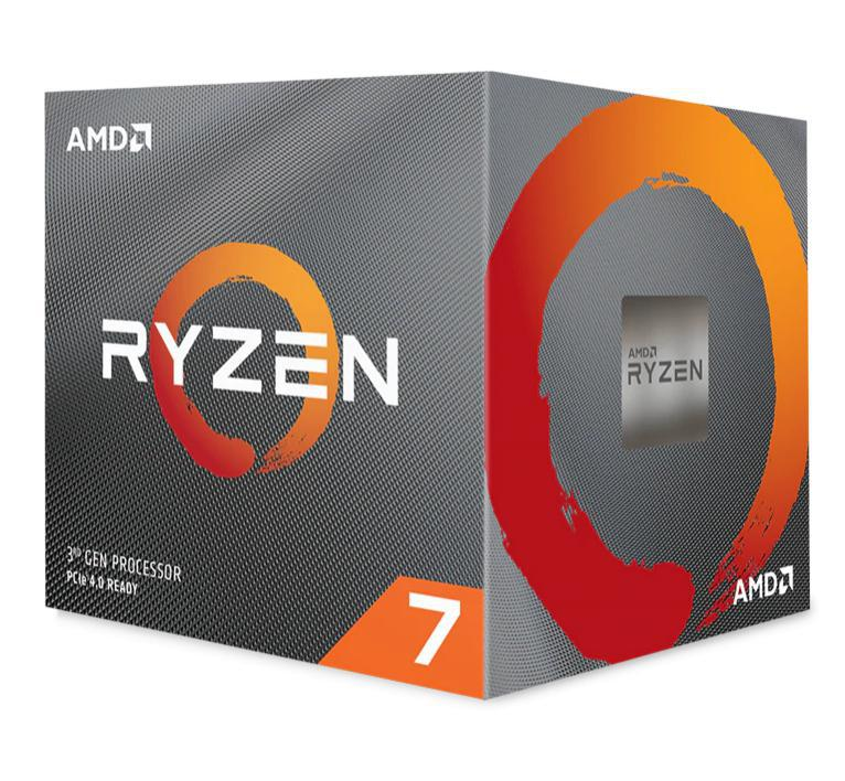 AMD Ryzen 7 3800X, 8 Core AM4 CPU, 3.9GHz 4MB 105W w/Wraith Prism Cooler Fan