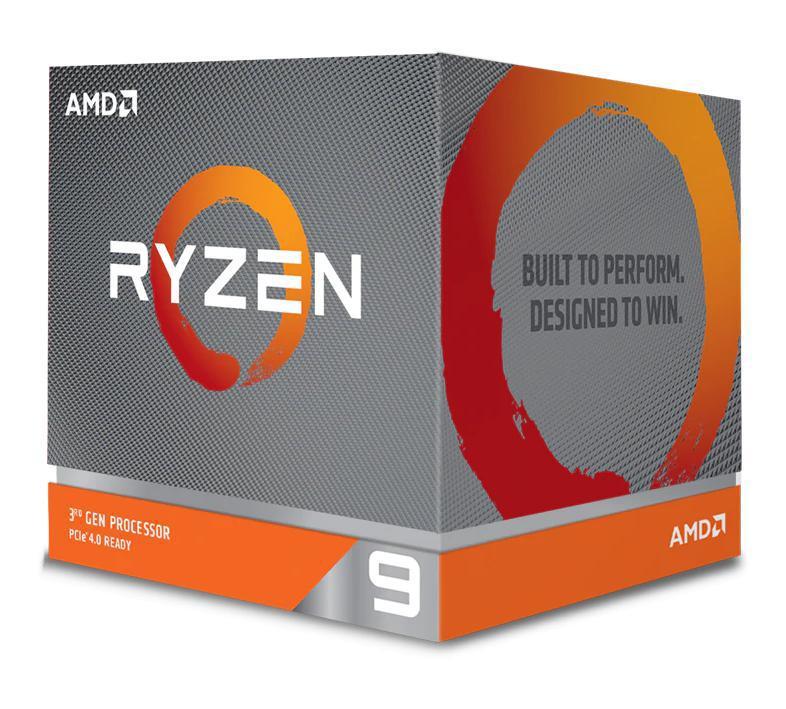 AMD Ryzen 9 3900X, 12 Cores AM4 CPU, 24 Threads, 3.8GHz 4MB 105W w/Wraith Prism Cooler Fan