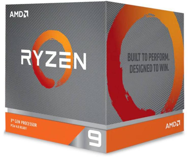 AMD Ryzen 9 3950X, 16 Cores AM4 CPU, 32 Threads, 3.5GHz, 64MB L3 Cache, 105W, PCIe 4.0x16, Without Cooler