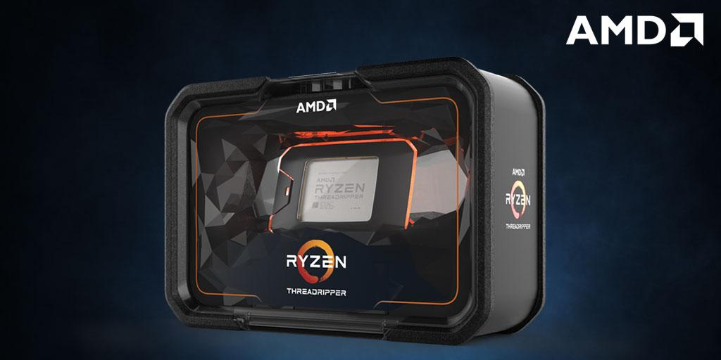 AMD Ryzen Threadripper 2970WX CPU 24 Core/48 Threads Unlocked Max Speed 4.2GHz 64MB Cache Boxed 3 Years Warranty - No Fan for X399 MB