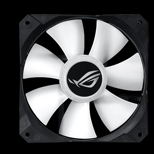 ASUS ROG Strix LC 240 RGB All-in-one Liquid CPU Cooler, Aura Sync, Dual ROG 120mm Addressable RGB Radiator Fans