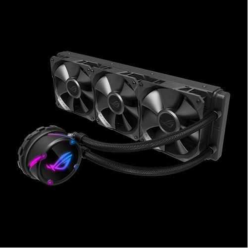ASUS ROG Strix LC 360 All-In-One Liquid CPU Cooler, Aura Sync, Triple ROG 120mm Radiator Fans