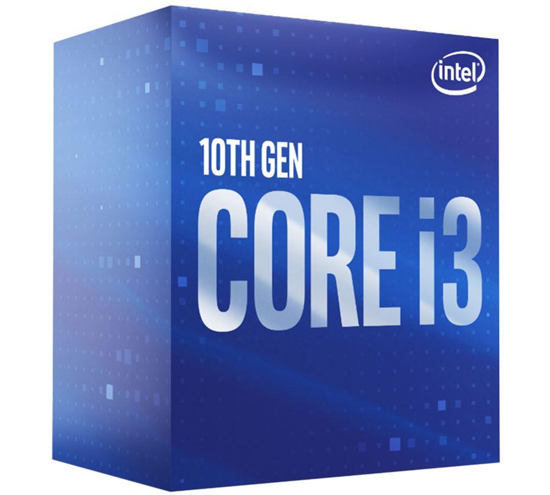 New Intel Core i3-10100 CPU 3.6GHz (4.3GHz Turbo) LGA1200 10th Gen 4-Cores 8-Threads 6MB 65W UHD Graphic 630 Retail Box 3yrs Comet Lake