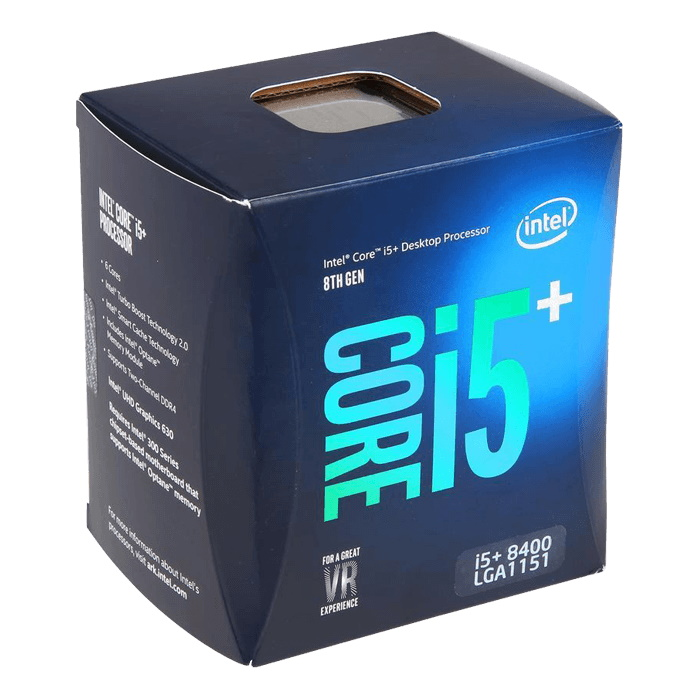 Intel Core i5-8400+Optane 2.80GHz s1151 Coffee Lake 8th Generation Boxed + Optane 16GB 3 Years Warranty