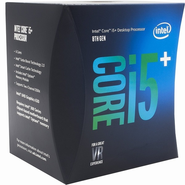 Intel Core i5-8500+Optane 3.0GHz s1151 Coffee Lake 8th Generation Boxed + Optane 16GB 3 Years Warranty