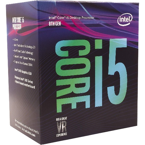 Intel Core i5-8500 3.0Ghz s1151 Coffee Lake 8th Generation Boxed 3 Years Warranty S
