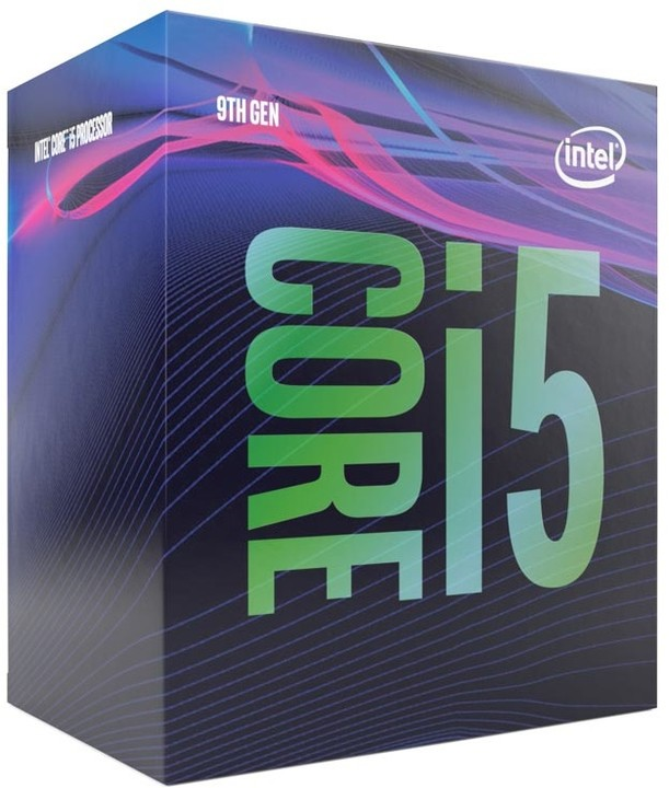 Intel Core i5-9400 2.9GHz (4.1GHz Turbo) LGA1151 9th Gen 6-Cores 6-Threads 9MB 8GT/s 65W Intel UHD Graphics 630 Retal Box 3yrs Coffee Lake