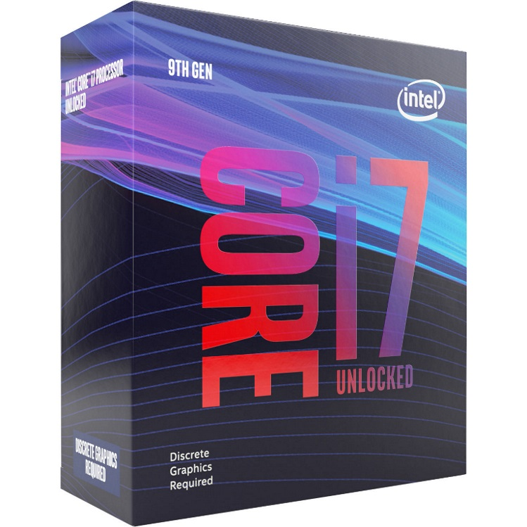 Intel Core i7-9700KF 3.6GHz (4.9GHz Turbo) LGA1151 9th Gen 8-Cores 8-Threads 12MB 8GT/s 95W Dedicated Graphics Required Retail Box 3yrs