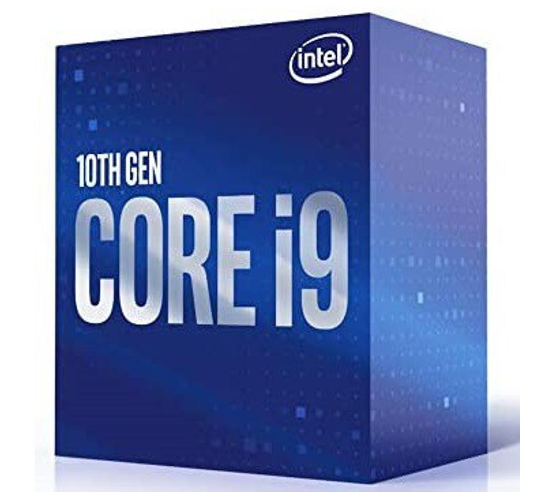 New Intel Core i9-10900 CPU 2.8GHz (5.2GHz Turbo) LGA1200 10th Gen 10-Cores 20-Threads 20MB 65W UHD Graphic 630 Retail Box 3yrs Comet Lake