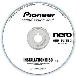 Pioneer Software Nero Suite 3 OEM Version 6.6 - Play Edit Burn  Share Blu-ray  3D contents - PowerDVD10 InstantBurn5.0 Power2Go8.0 PowerProducer5.5