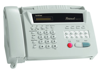 Brother FAX-515Thermal Fax Fax, Phone, Copier, Anti Curl (LS)