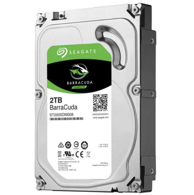 NEW HASEA-2TB-BC72256 ST2000DM008, SEAGATE 2TB 3.5' BARRACUDA, 7200RPM SATA3.e.