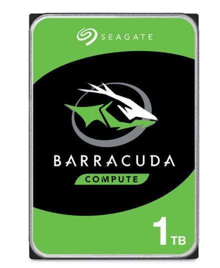Seagate 1TB 3.5' Barracuda, 7200RPM SATA3 6Gb/s 64MB Cache HDD