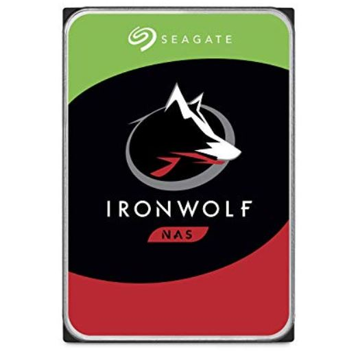 Seagate 1TB 3.5' IronWolf NAS 5900RPM SATA3 6Gb/s 64MB HDD. 3 Years Warranty