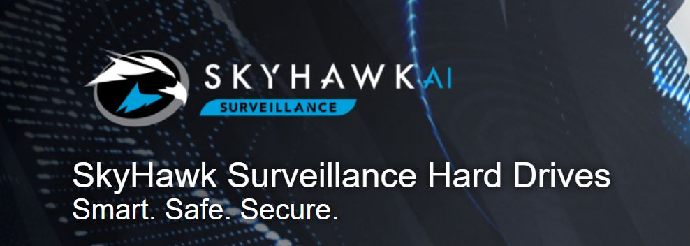 Seagate 8TB 3.5' SkyHawk Surveillance,  SATA3 6Gb/s 256MB Cache 24x7 HDD ST8000VX004,  3 Years Warranty