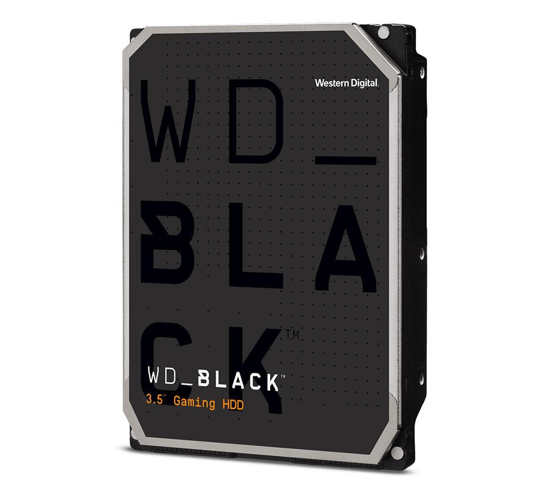 Western Digital WD Black 1TB 3.5' HDD SATA 6gb/s 7200RPM 64MB Cache CMR Tech for Hi-Res Video Games 5yrs Wty