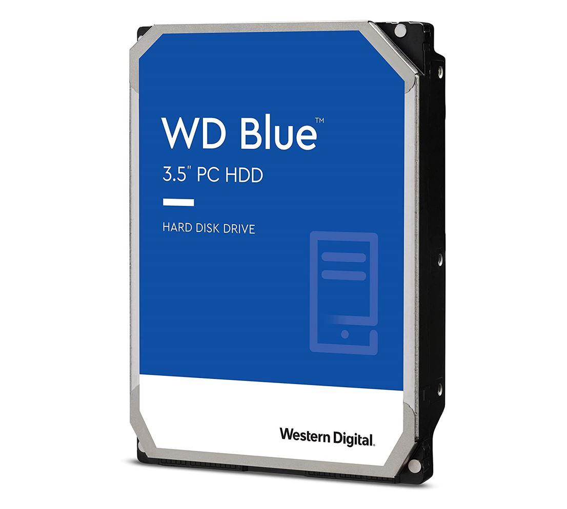 Western Digital WD Blue 6TB 3.5' HDD SATA 6Gb/s 5400RPM 256MB Cache SMR Tech 2yrs Wty