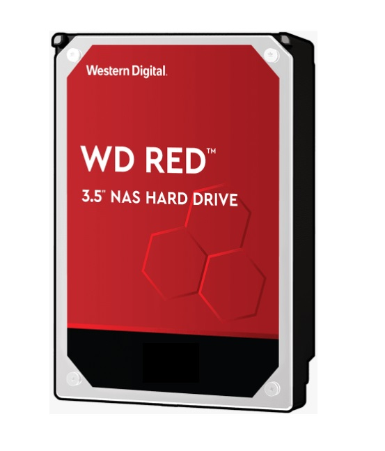 Western Digital WD Red 10TB 3.5' NAS HDD SATA3 5400RPM 256MB Cache 24x7 NASware 3.0 CMR Tech 3yrs wty