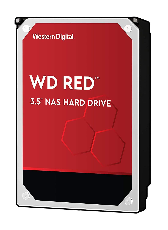 Western Digital WD Red 6TB 3.5' NAS HDD SATA3 5400RPM 64MB Cache CMR 24x7 NASware 3.0 Tech 3yrs wty