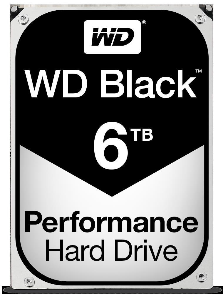 WD Black 6TB SATA3  3.5' 7200RPM 6Gb/s 128MB Cache HDD WD6003FZBX