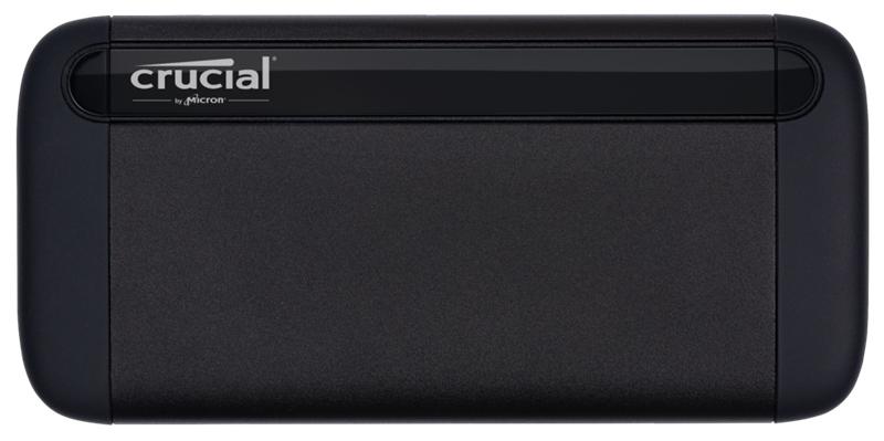 Crucial X8 500GB External Portable SSD ~1050MB/s USB3.2 USB-C USB3.0 USB-A Durable Rugged Shock Proof PC MAC PS4 Xbox Android iPad Pro ~HXS-PT5-500GB