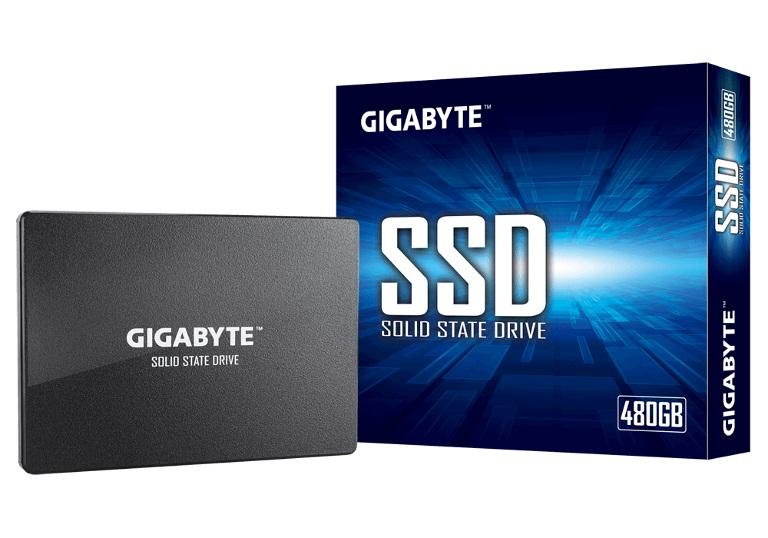 Gigabyte SSD 480GB 2.5' SATA3 6Gb/s 550/480 MB/s 75K/70K 200TBW 2M hrs MTBF HMB TRIM  SMART Solid State Drive 3yrs Wty