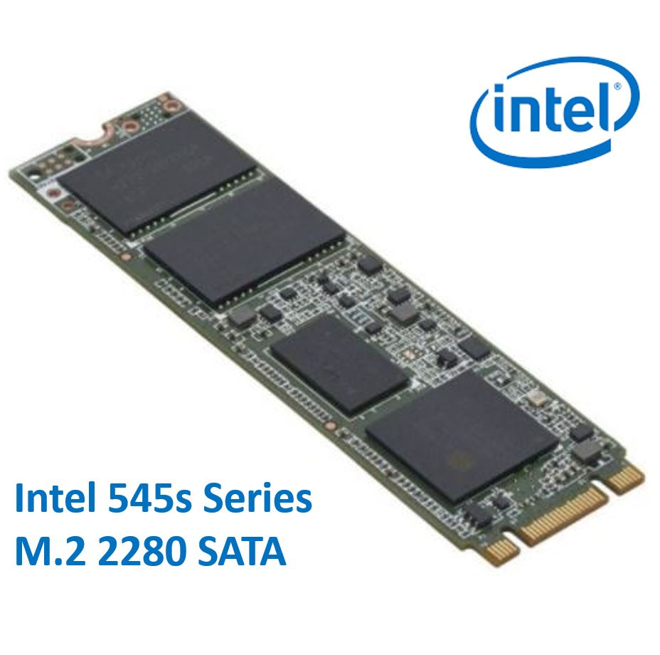 Intel 545s Series M.2 2280 256GB SSD SATA3 6Gbps 550/500MB/s TCL 3D NAND 75K/85K IOPS 1.6 Million Hours MTBF SFF Solid State Drive 5yrs Wty